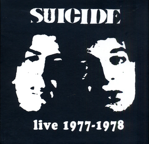 Suicide 'Live 1977 - 1978' - Cargo Records UK