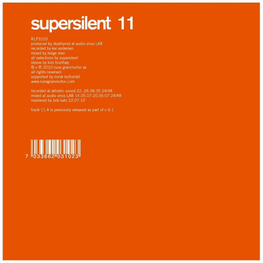 Supersilent '11' - Cargo Records UK
