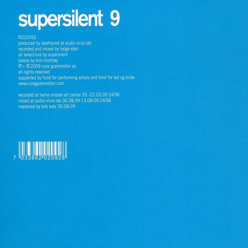 Supersilent '9' - Cargo Records UK