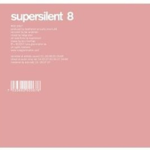 Supersilent '8' CD