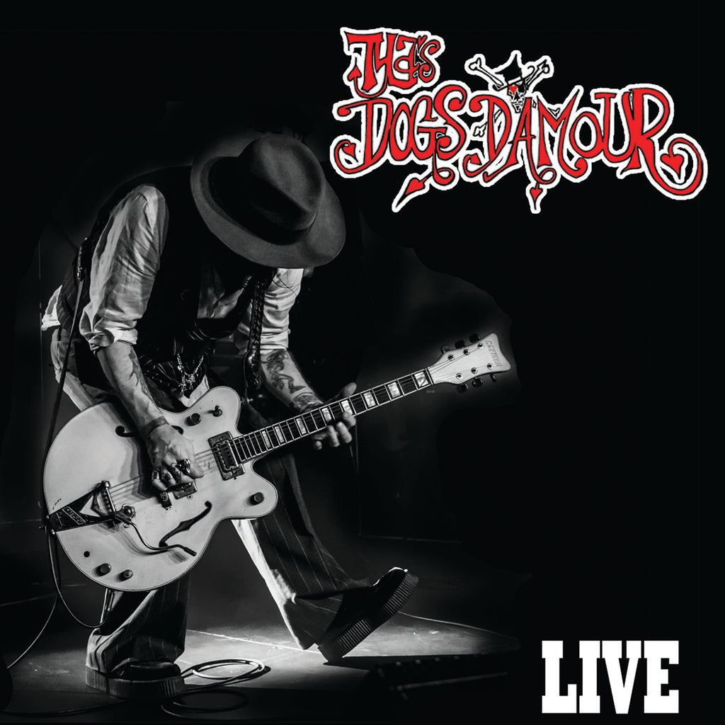 Tyla's Dogs D'amour 'Live' CD/DVD PRE-ORDER - Cargo Records UK