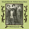 Television Personalities 'Privilege' Vinyl LP - White Marbled