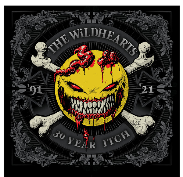 The Wildhearts 'Thirty Year Itch' PRE-ORDER