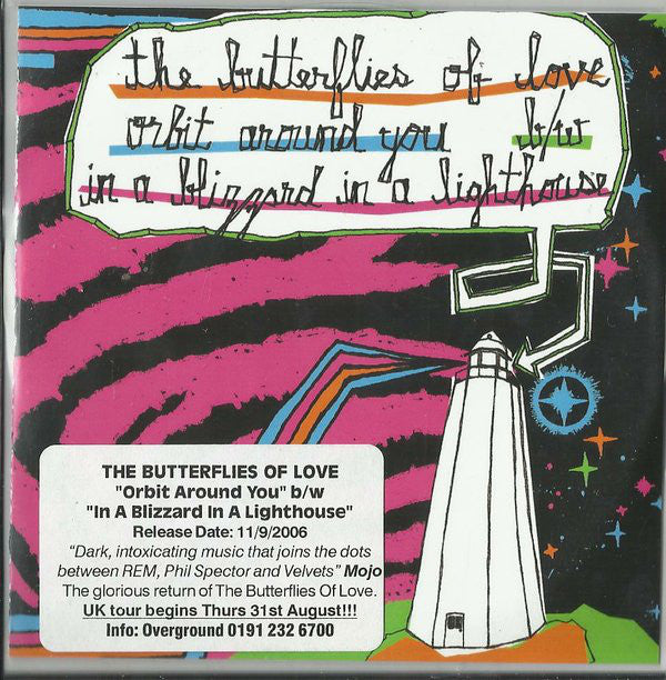 The Butterflies Of Love 'Orbit Around You / In a Blizzard' - Cargo Records UK