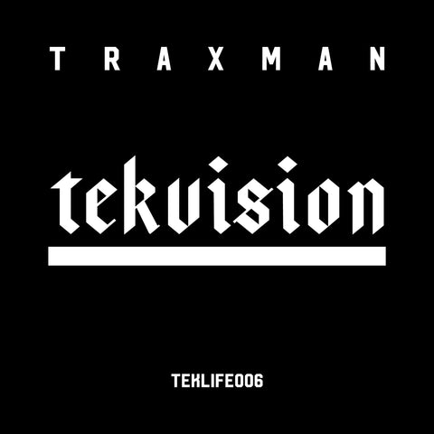 Traxman 'Tekvision' Vinyl LP - Cargo Records UK
