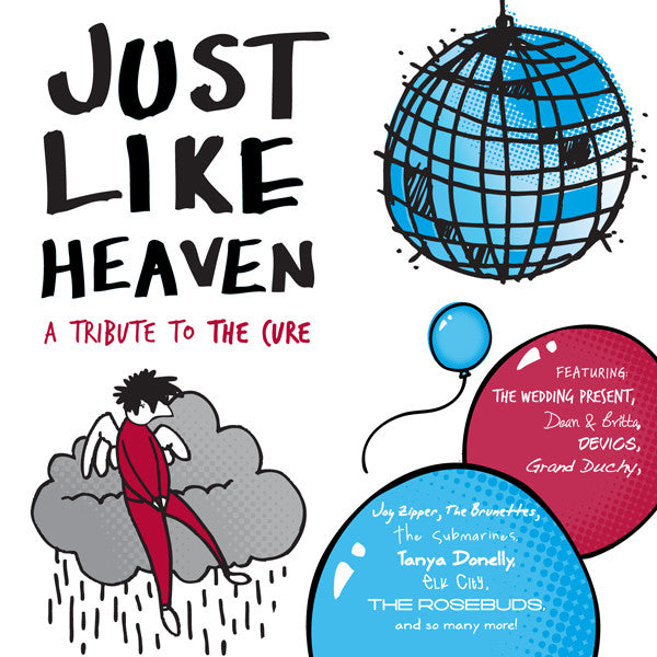Various Artists 'Just Like Heaven: A Tribute to The Cure' - Cargo Records UK