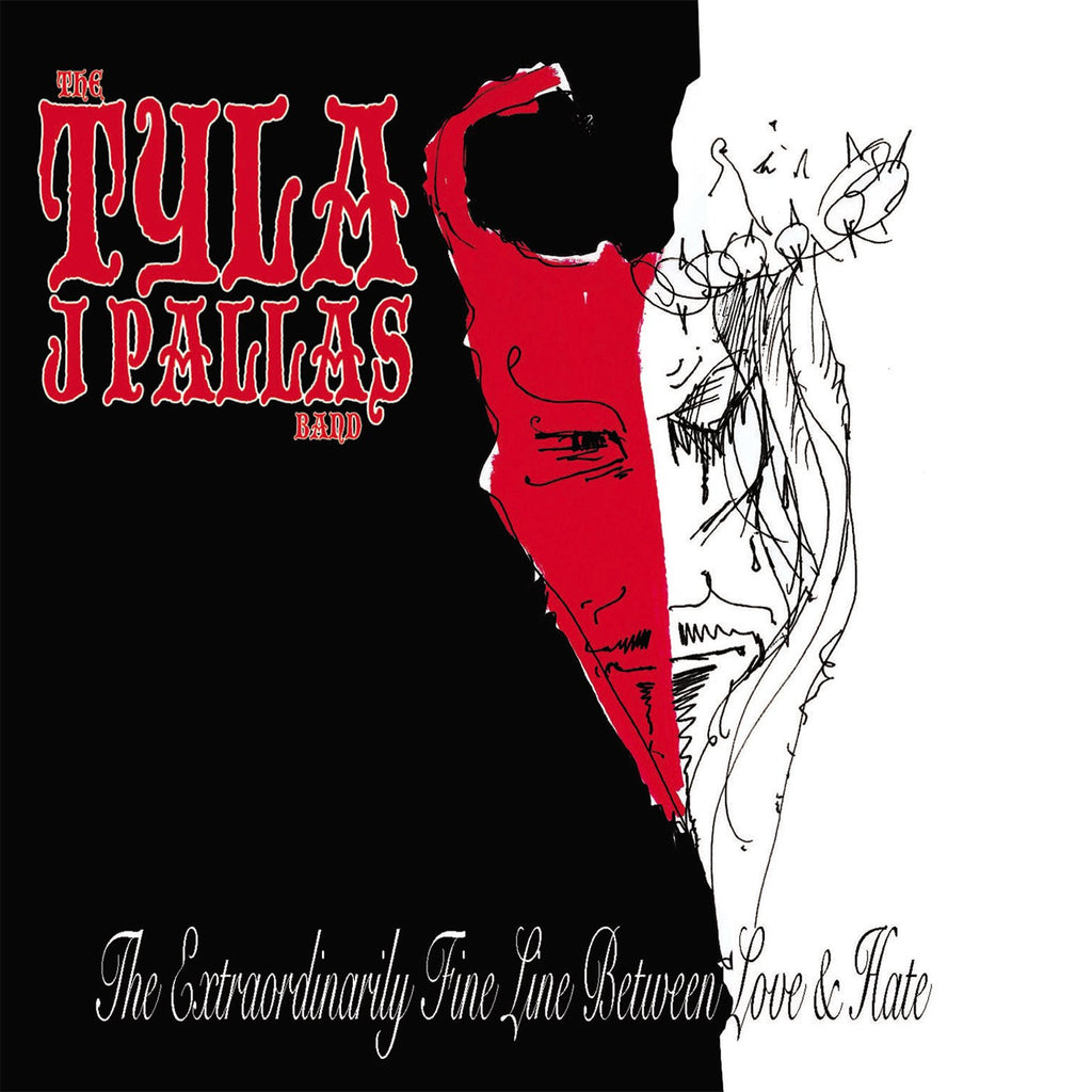 Tyla J. Pallas Band 'The Extraordinarily Fine Line Between Love & Hate' - Cargo Records UK