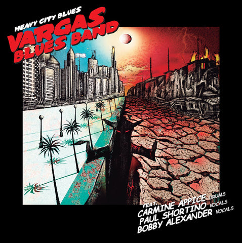 Vargas Blues Band 'Heavy City Blues' - Cargo Records UK