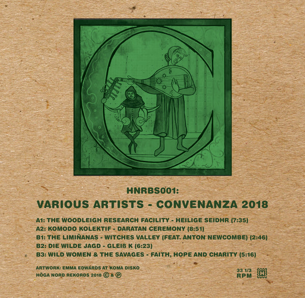 Various Artists 'Convenanza 2018' Vinyl LP PRE-ORDER