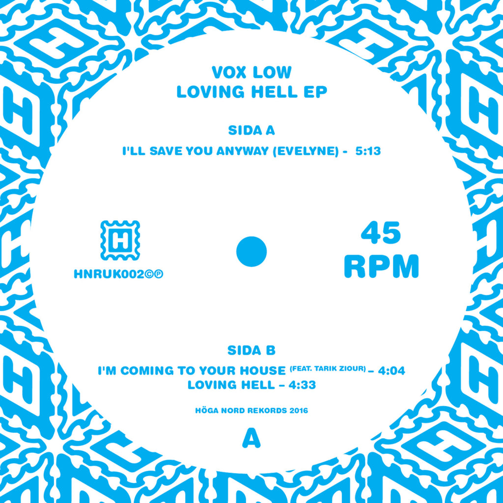 Vox Low 'Loving Hell EP' - Cargo Records UK
