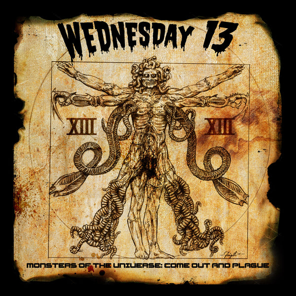 Wednesday 13 'Monsters of The Universe : Come Out And Plague' - Cargo Records UK