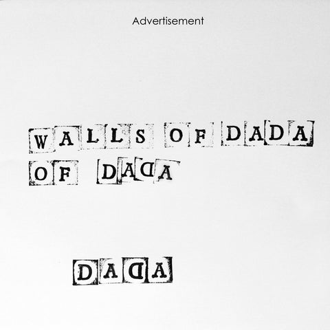 Walls Of Dada 'Walls Of Dada' - Cargo Records UK