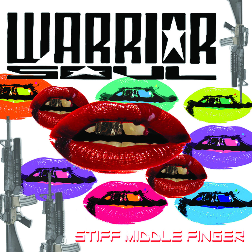 Warrior Soul 'Stiff Middle Finger' - Cargo Records UK