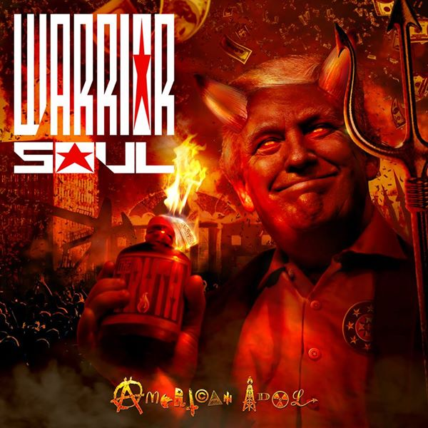 Warrior Soul 'Back On The Lash' - Cargo Records UK
