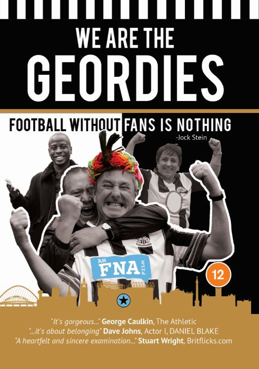 We Are The Geordies (The Newcastle United Fan Film) DVD
