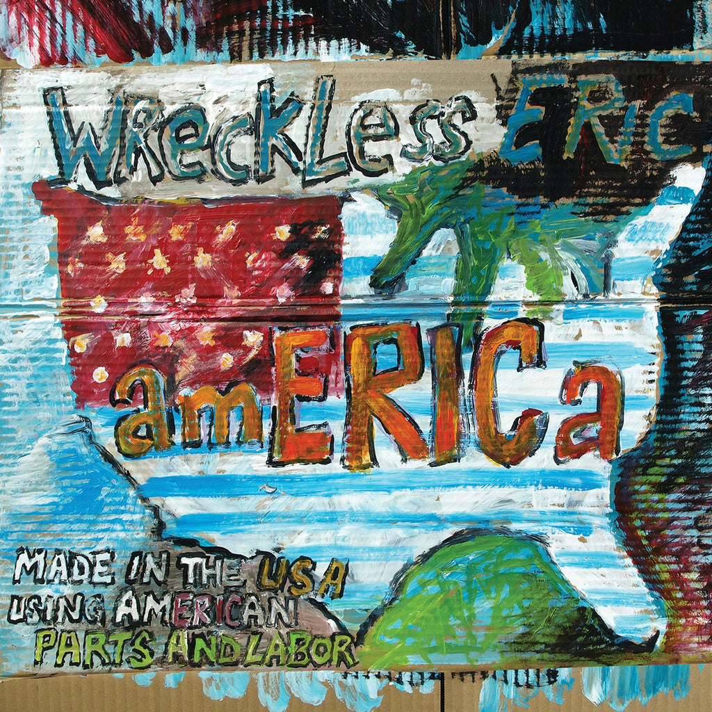 Wreckless Eric 'amERICa' - Cargo Records UK