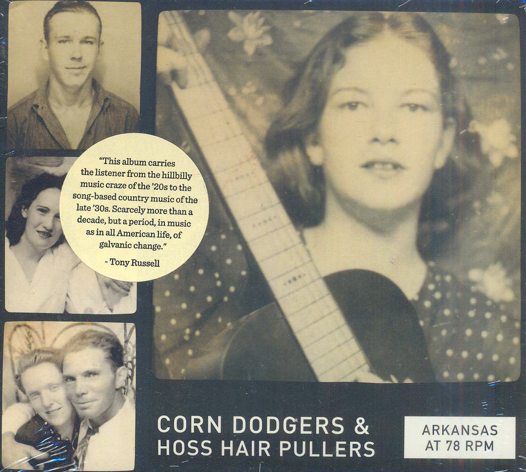 Various Artists 'Arkansas at 78 RPM: Corn Dodgers & Hoss Hair Pullers' - Cargo Records UK