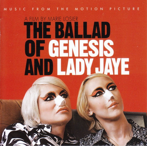 Various Artists 'The Ballad Of Genesis And Lady Jaye: Music From The Motion Picture' - Cargo Records UK