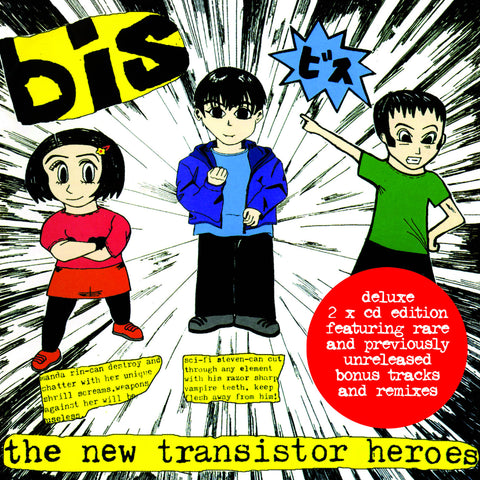 bis 'The New Transistor Heroes (Deluxe)' - Cargo Records UK