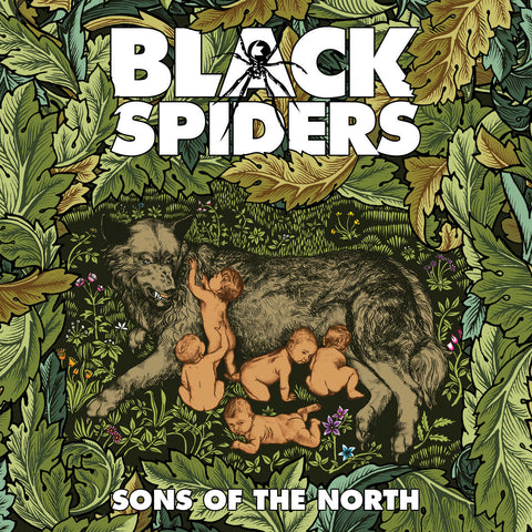 Black Spiders 'Sons Of The North' - Cargo Records UK