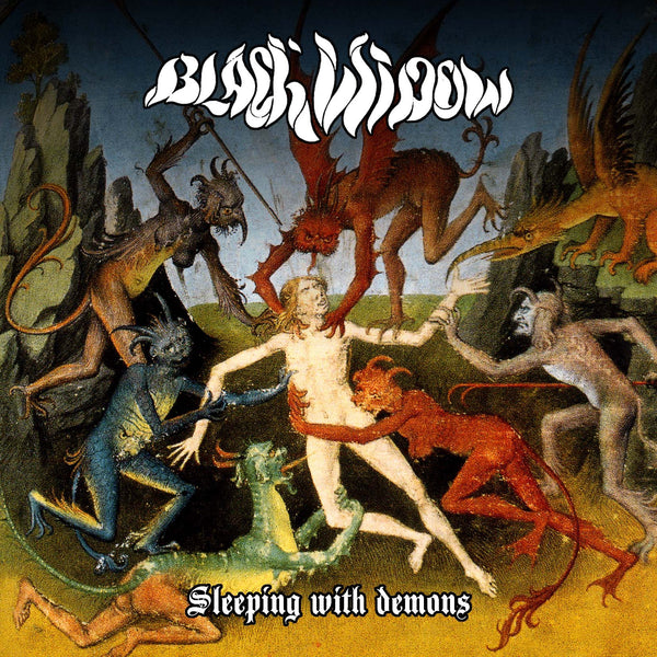 Black Widow 'Sleeping With Demons' - Cargo Records UK