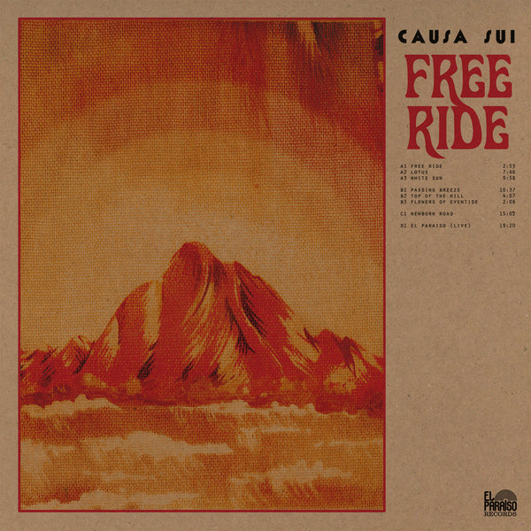 Causa Sui 'Free Ride' Vinyl 2xLP + Download Card