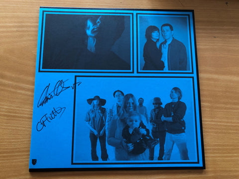 Excepter 'Shot Ring' Vinyl LP Signed By Chris & Cosey