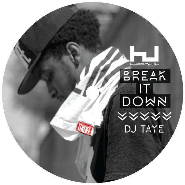 DJ Taye 'Break It Down EP' - Cargo Records UK - 1