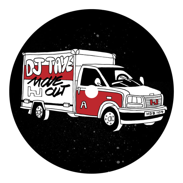 DJ Taye 'Move Out EP' - Cargo Records UK