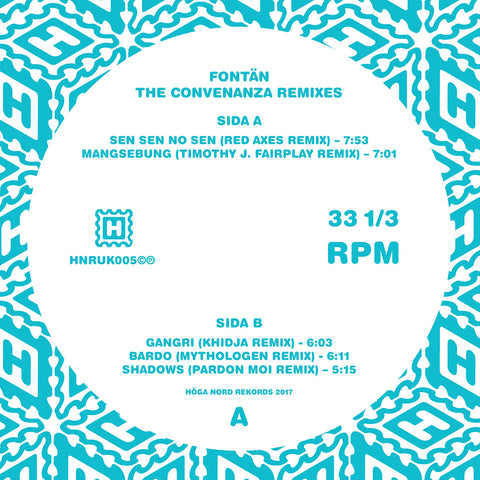 Fontän 'The Convenanza Remixes' PRE-ORDER - Cargo Records UK