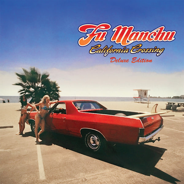 Fu Manchu 'California Crossing' Vinyl 3xLP Yellow/Blue/Red - Cargo Records UK