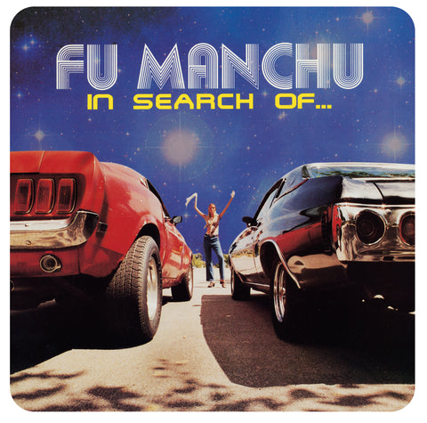Fu Manchu 'In Search Of... Deluxe Edition' Vinyl LP - Clear/Blue/Yellow Splatter + 7