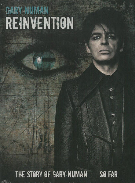 GARY NUMAN 'Re-Invention' - Cargo Records UK