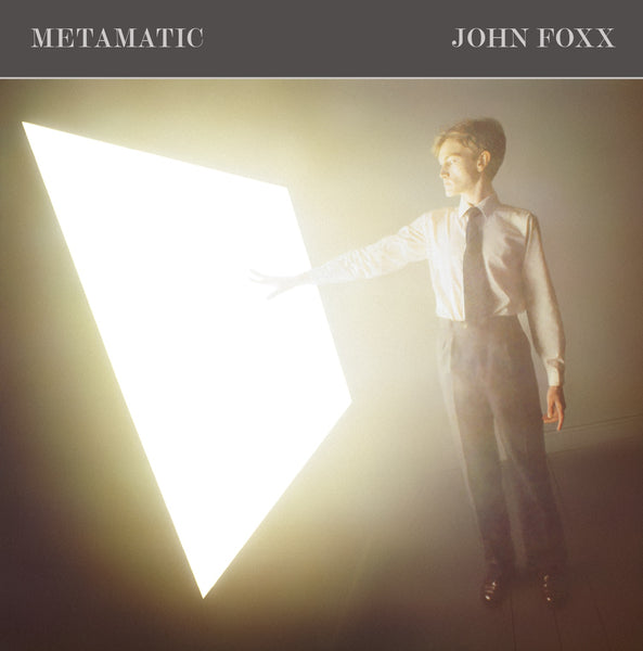 John Foxx 'Metamatic (3CD Deluxe Edition)'