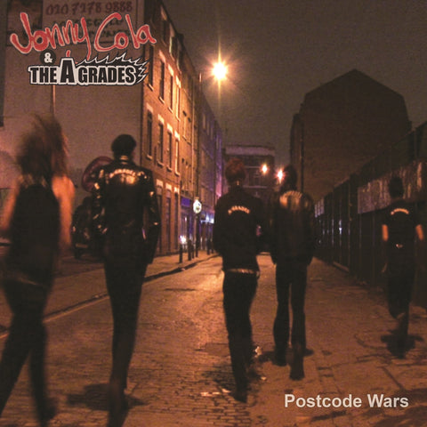 Jonny Cola & The A-Grades 'Postcode Wars' EP - Cargo Records UK
