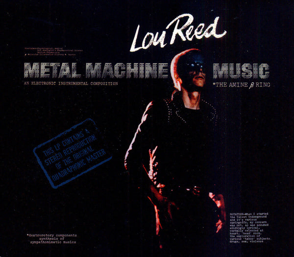 Lou Reed 'Metal Machine Music' - Cargo Records UK