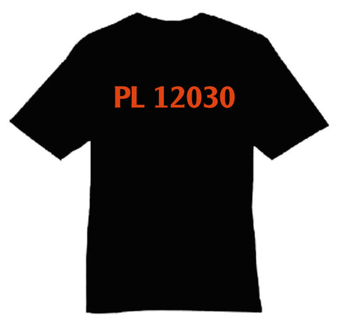 PL12030 Low Shirt Catalogue Number Shirt