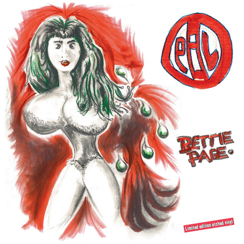 Public Image Limited (PiL) 'Bettie Page' - Cargo Records UK