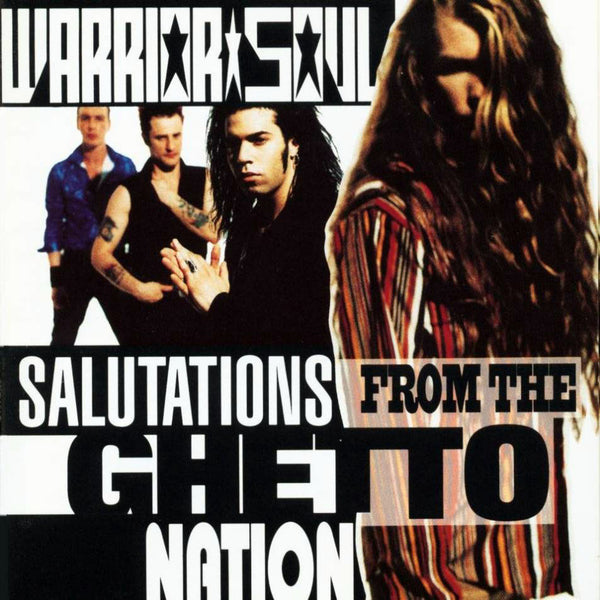 Warrior Soul 'Salutation From The Ghetto Nation' - Cargo Records UK