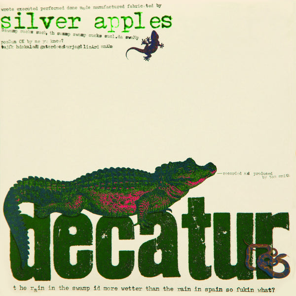 Silver Apples 'Decatur' - Cargo Records UK