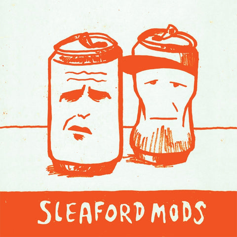 Sleaford Mods 'Mr Jolly Fucker / Tweet Tweet Tweet' - Orange 7