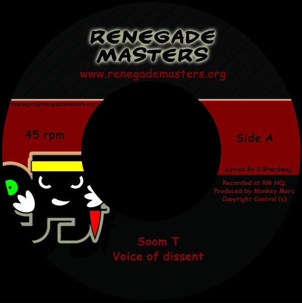 Soom T & Monkey Marc 'Voice Of Dissent' - Cargo Records UK