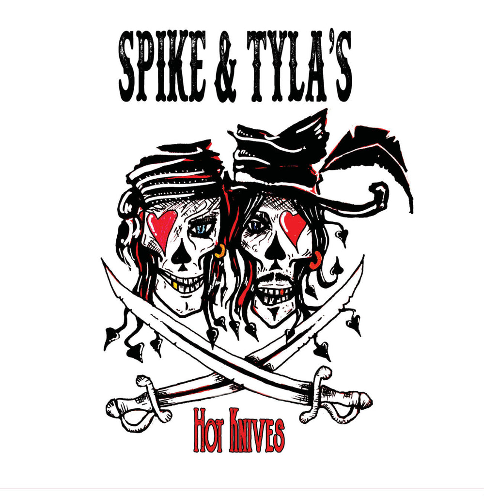 Spike and Tyla's Hot Knives 'The Sinister Indecisions Of Frankie Gray & Jimmy Pallas' - Cargo Records UK