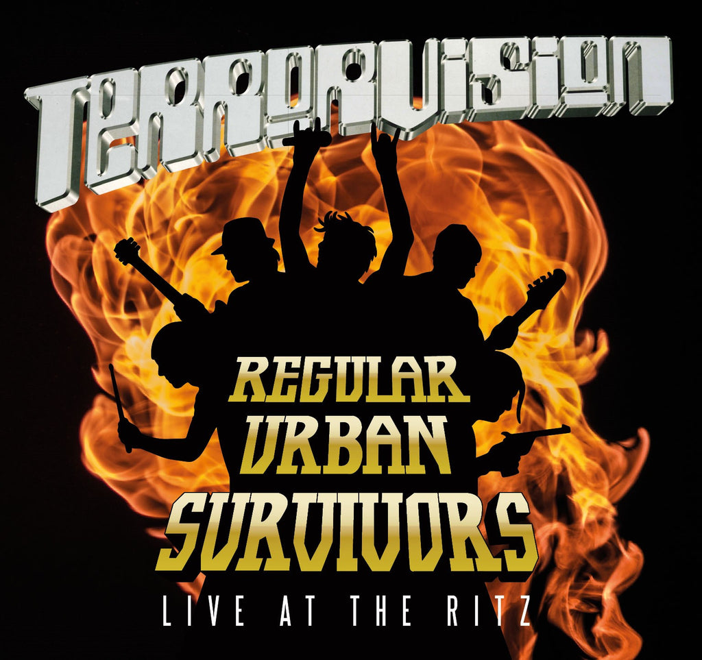 Terrorvision 'Regular Urban Survivors LIVE!' - Cargo Records UK