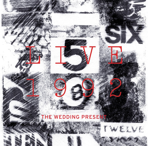The Wedding Present 'Live 1992' - Cargo Records UK