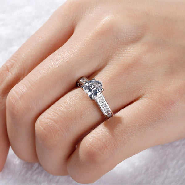 Heart Cut Sterling Silver Ring-JE-Juri Elle