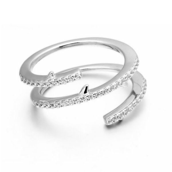 Simple Classic Sterling Silver Ring-TL-Juri Elle