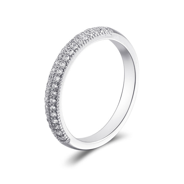 Guard You Round Cut Sterling Silver Ring-TL-Juri Elle