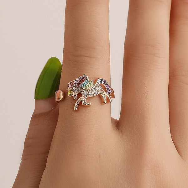 Unicorn Adjustable Ring