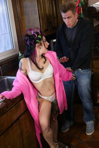 Joanna Angel Worn Bra & Panties - DysFucktional Family Reunion